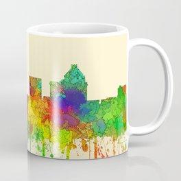 Greenboro North Carolina Skyline - SG Coffee Mug