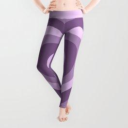 Hypnotic Purple Hearts Leggings