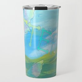 """"""" Butterflies In The Clearing """" Travel Mug"""