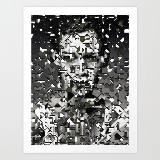 Ultracut / Sensors (2013) Art Print