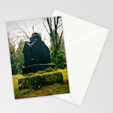 Graveyard green Stationery Cards