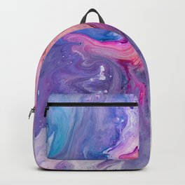 ultra violet marble fun Backpack