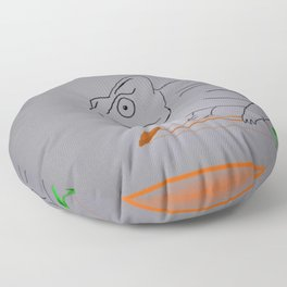 Thoughtful Cameleon Floor Pillow