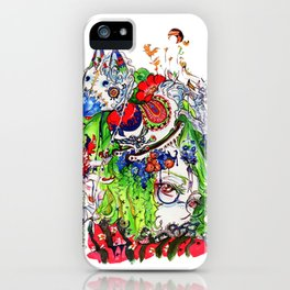 The rocking horse iPhone Case