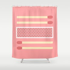 #75 Matches Shower Curtain
