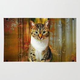 Cat Models 03: Wanda 04 Rug
