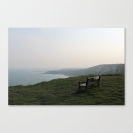 The White Cliffs of Dover, England (2012) Canvas Print