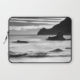 """Vela Blanca Tower"". Bw Laptop Sleeve"