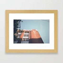 western skies. Framed Art Print