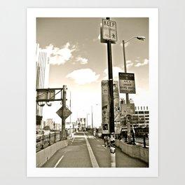 WHITEOUT : Under Surveillance Art Print