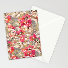 Roses in retro Stationery Cards