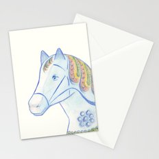 Memories of a wooden horse Stationery Cards