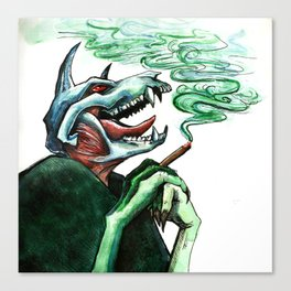 Blunted Canvas Print