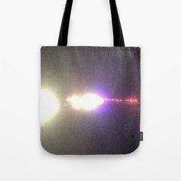 Abstracte Light Art in the Dark Version 35 Tote Bag