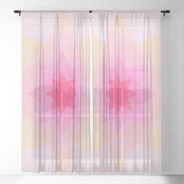 Starburst Sheer Curtain