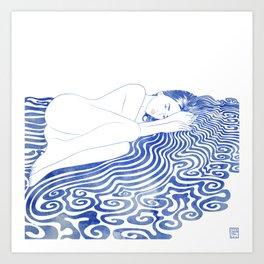 Water Nymph XXVIII Art Print