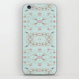 Duck Egg Chintz iPhone Skin