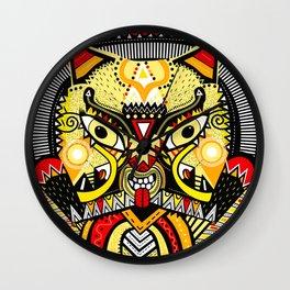 LISHKA YELLOW Wall Clock