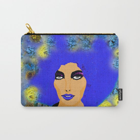 A WOMAN AND HER HAIR Carry-All Pouch