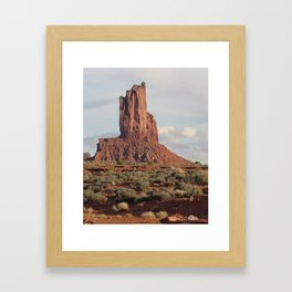 Monument Valley Afternoon Framed Art Print