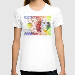 Dollar Bill Splash T-shirt