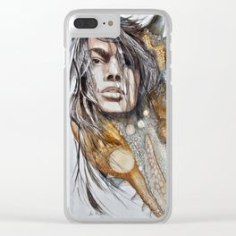 Changing Colors Clear iPhone Case