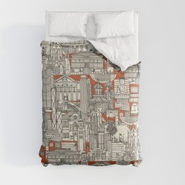 Hong Kong toile de jouy Comforters