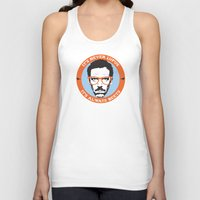 house md Tank Tops featuring HOUSE MD: IT'S NOT LUPUS, IT'S BEETS by MDRMDRMDR