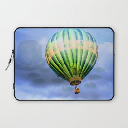 Floating through clouds of shamrocks Laptop Sleeve
