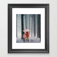 lost girls Framed Art Print