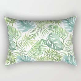 Tropical Branches Pattern 06 Rectangular Pillow