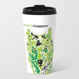 Wolf - do not let it disappear Travel Mug