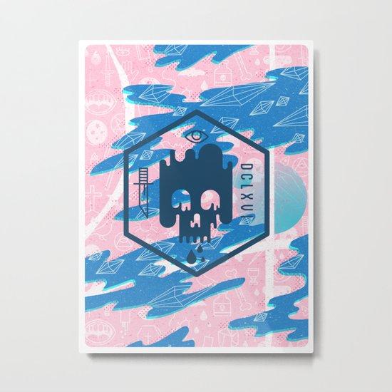 DCLXVI Metal Print