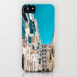 Hidden Street - Valletta, Malta iPhone Case