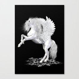 The Pegasus ..  StarFire .. fantasy horse Canvas Print