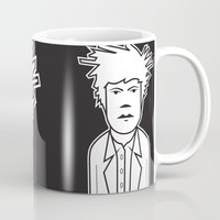 basquiat Mugs featuring Jean-Michel Basquiat! by Matel