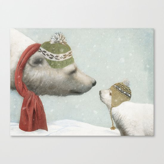 First Winter Canvas Print