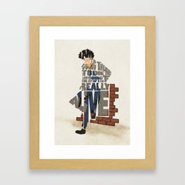 The Space Cowboy Framed Art Print