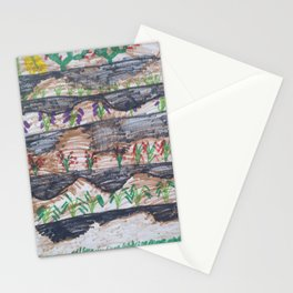 green garden by pascal Stationery Cards