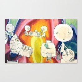 'pizzapizza' Canvas Print