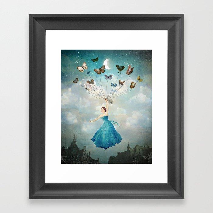 Leaving Wonderland Gerahmter Kunstdruck