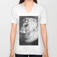 sleep V-neck T-shirts featuring Sleep by viridian expanse