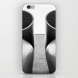 Air - Duct - Pipe iPhone Skin