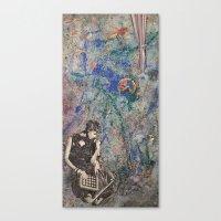 mod Canvas Prints featuring Mod by Megan Justine Henrich