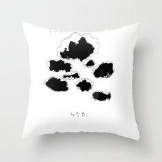 418 Throw Pillow