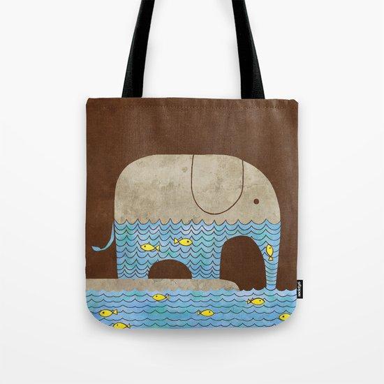 Thirsty Elephant - colour option Tote Bag
