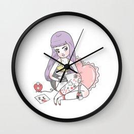 Happy Tattoo Wall Clock