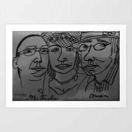 The Fools/omen Art Print