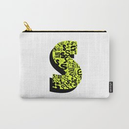 Letter S Carry-All Pouch