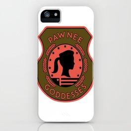 pawnee iPhone Case